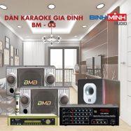 Dàn Karaoke Gia Đình BM 03