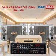 Dàn Karaoke Gia Đình BM 08