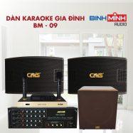 Dàn Karaoke Gia Đình BM 09