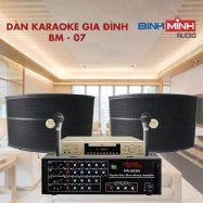 Dàn Karaoke Gia Đình BM 07