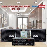 Dàn Karaoke Gia Đình BM 01