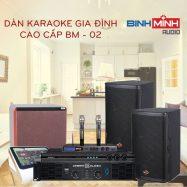 Dàn Karaoke Gia Đình Cao Cấp BM 02
