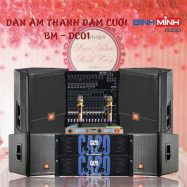 Dàn Âm Thanh Đám Cưới Giá Rẻ BM- DC01