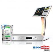 Đầu Karaoke ViệtKTV HD Plus 4TB + Màn hình cảm ứng 22inch