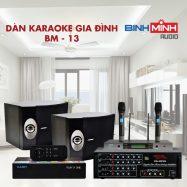 Dàn Karaoke Gia Đình BM 13