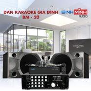Dàn Karaoke Gia Đình BM 20