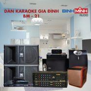 Dàn Karaoke Gia Đình BM 21