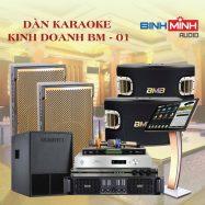 Dàn Karaoke Kinh Doanh BM 01