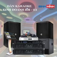 Dàn Karaoke Kinh Doanh BM 03