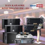 Dàn Karaoke Kinh Doanh BM 05