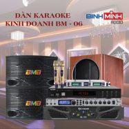 Dàn Karaoke Kinh Doanh BM 06