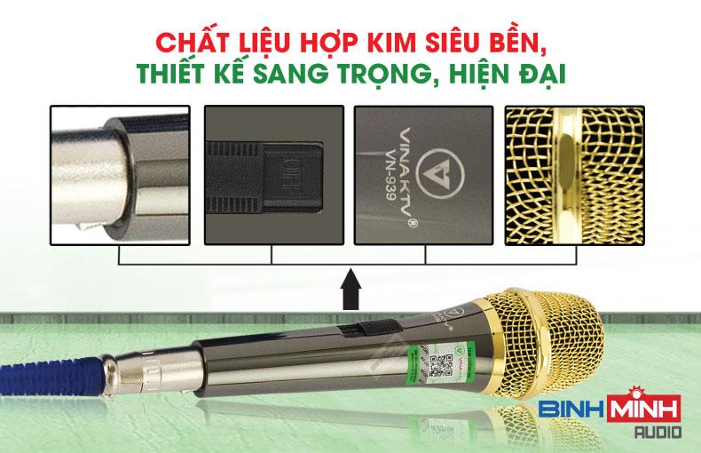 Micro có dây VinaKTV VN939