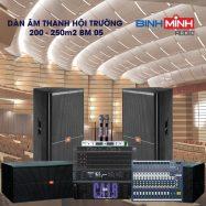 Dàn Âm Thanh Hội Trường 200 – 250m2 BM 05