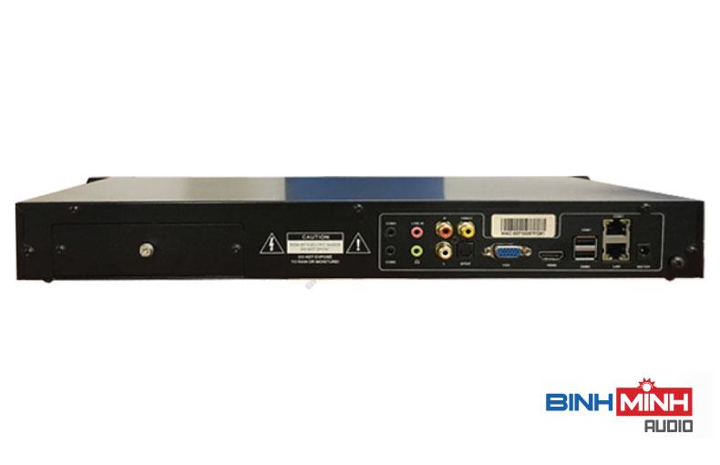 Mặt sau đầu Karaoke BTE Pro-650