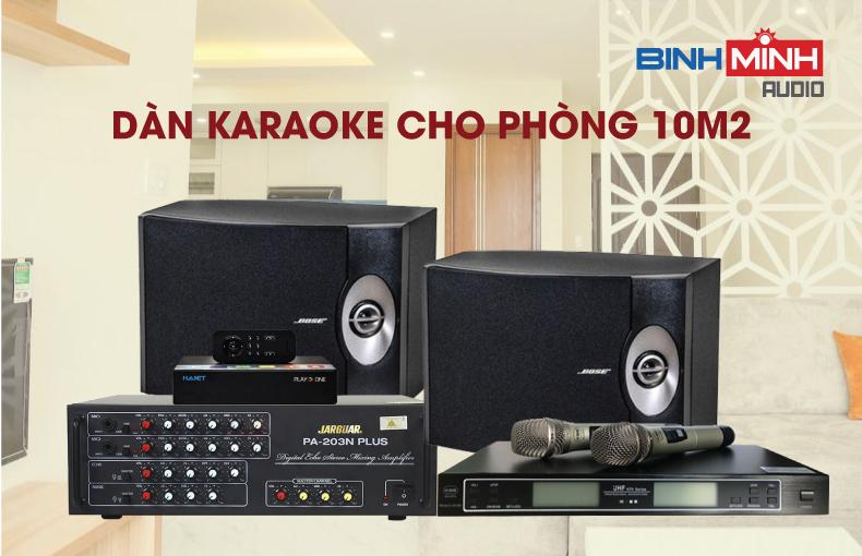Dàn karaoke gia đình cho phòng 10m2