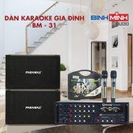 Dàn Karaoke Gia Đình BM 31