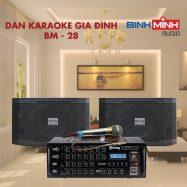 Dàn Karaoke Gia Đình BM 28