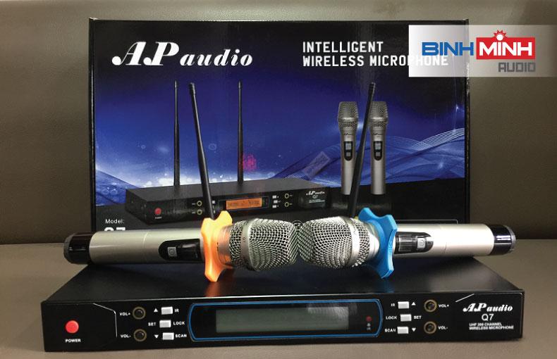 Micro không dây hội trường AP Q7