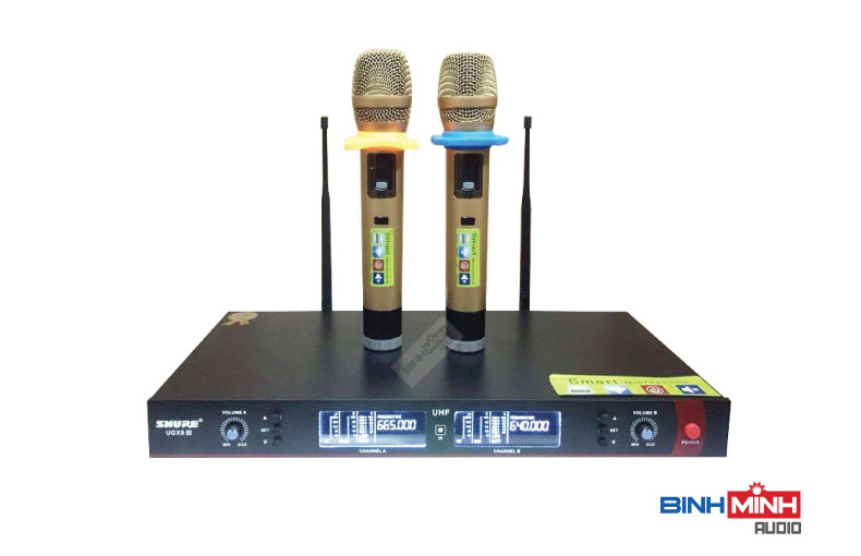Micro khong day Shure UGX9 III