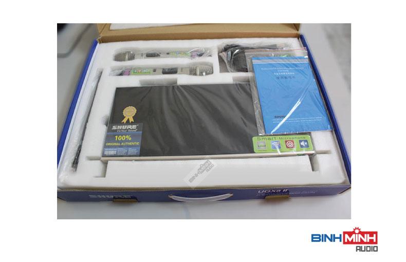 Trọn bộ micro không dây Shure UGX8 II