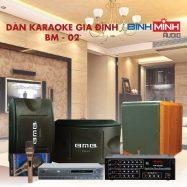 Dàn Karaoke Gia Đình BM 02
