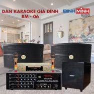Dàn Karaoke Gia Đình BM 06