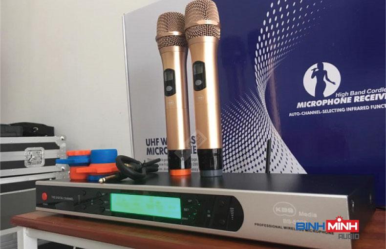 Bộ sản phẩm micro không dây KBS BS5200