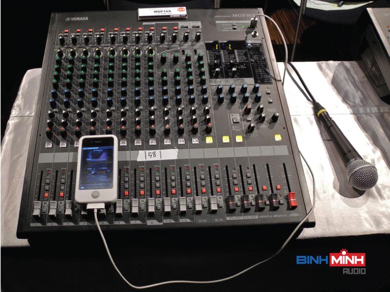 Mixer Hội trường Yamaha MGP16X