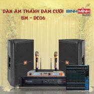 Dàn Âm Thanh Đám Cưới Giá Rẻ  BM – DC06