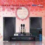 Dàn Âm Thanh Đám Cưới Giá Rẻ BM – DC03