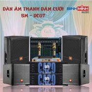 Dàn Âm Thanh Đám Cưới BM – DC07