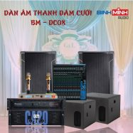 Dàn Âm Thanh Đám Cưới BM – DC08