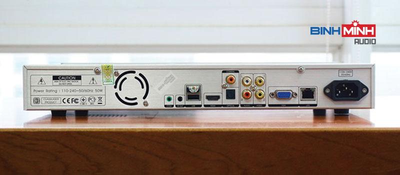 Cổng kết nối đầu karaoke VietKTV HDPlus 4TB