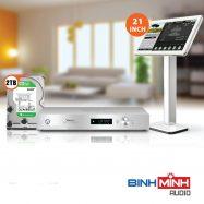 Đầu Karaoke Việt KTV HD Plus 2TB + Màn hình cảm ứng 21inch