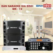Dàn Karaoke Gia Đình BM 12