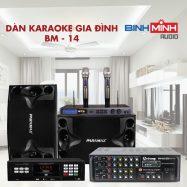 Dàn Karaoke Gia Đình BM 14