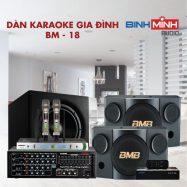 Dàn Karaoke Gia Đình BM 18