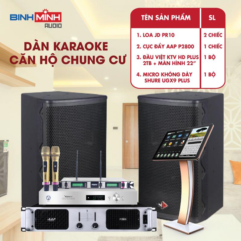 Dàn Karaoke Cho Phòng 30 -50 m2