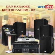 Dàn Karaoke Kinh Doanh BM 02