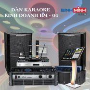 Dàn Karaoke Kinh Doanh BM 04
