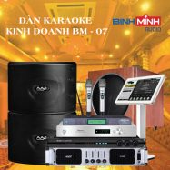 Dàn Karaoke Kinh Doanh BM 07