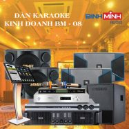 Dàn Karaoke Kinh Doanh BM 08