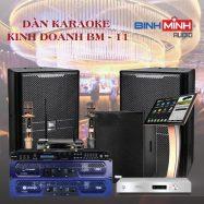 Dàn Karaoke Kinh Doanh BM 11