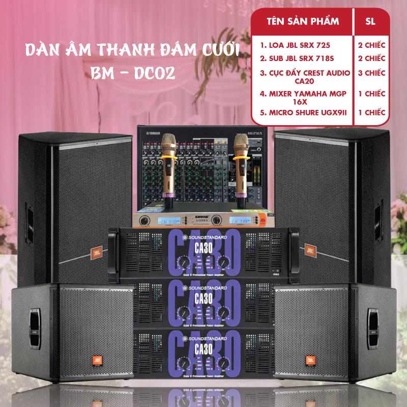 Dàn âm thanh dám cưới BM- DC02