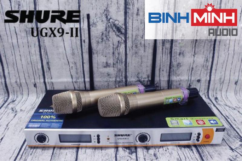 Micro karaoke không dây Shure UGX9 II