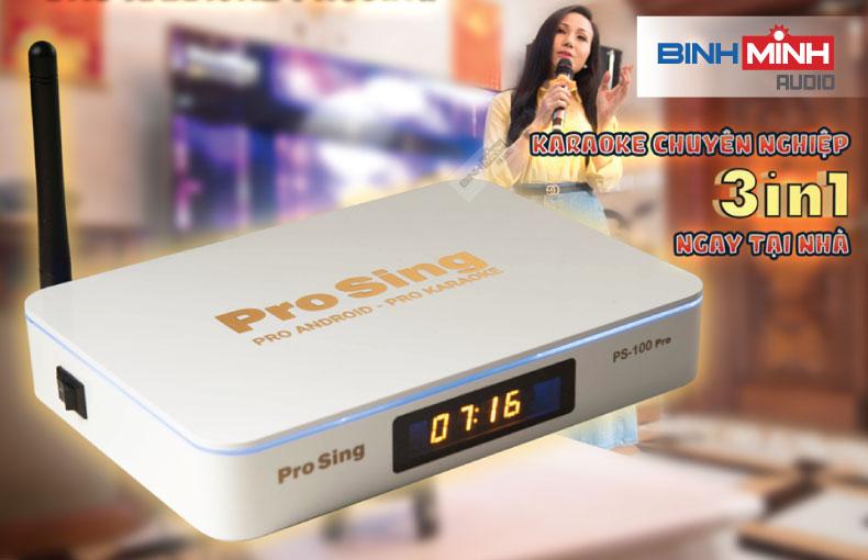 Đầu karaoke Android TV Box ProSing PS-100 Pro