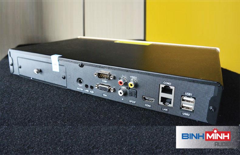 Mặt sau đầu Karaoke BTE S600 3TB