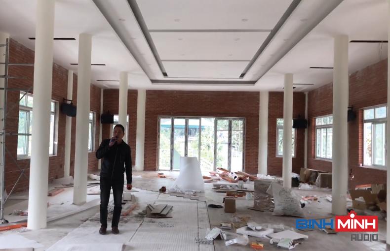Lắp đặt dàn âm thanh hội trường tại Ninh Bình