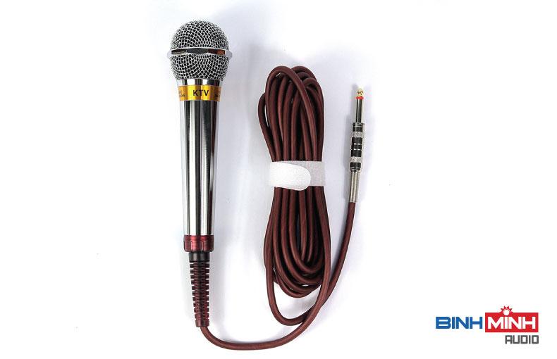 Micro karaoke có dây Kiwi T100