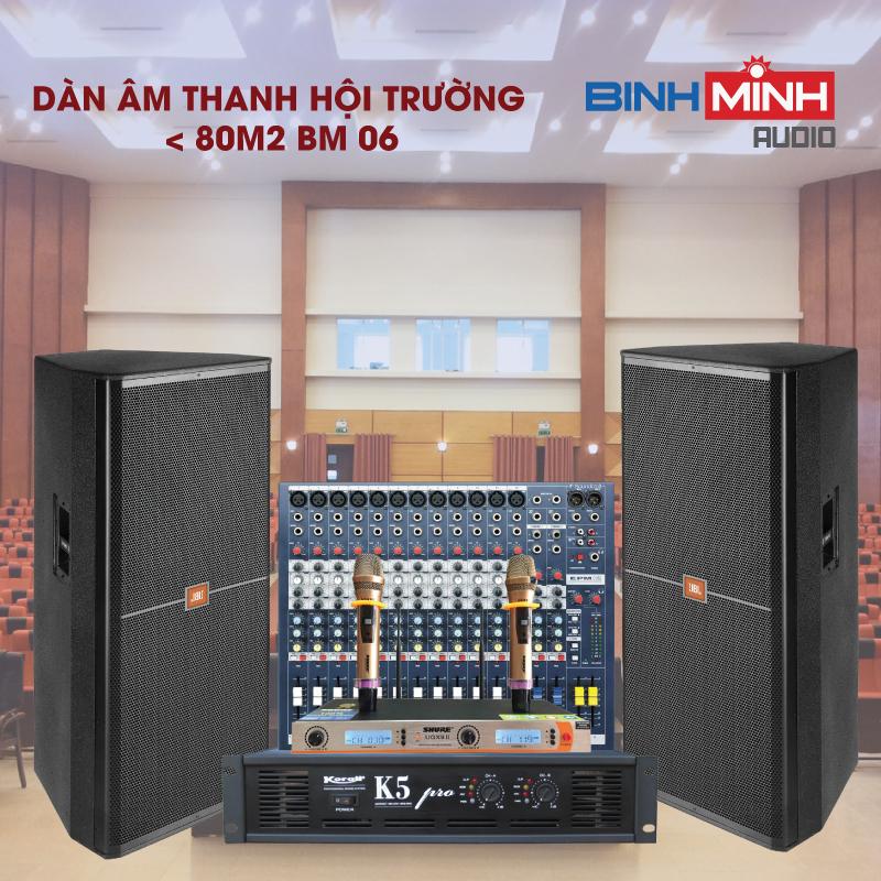 Dàn âm thanh hội trường chuyên nghiệp tại Hà Nội